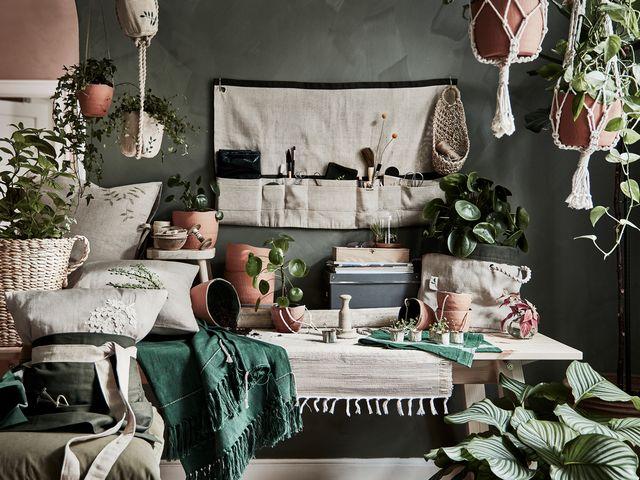 colección botanisk de ikea, para plantas macetas, maceteros