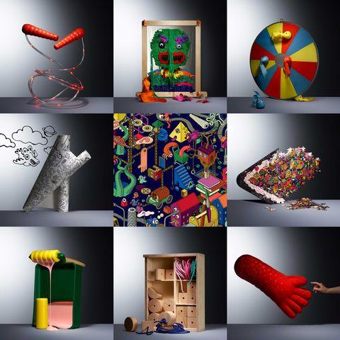 Ikea nueva colección de juegos Lustigt