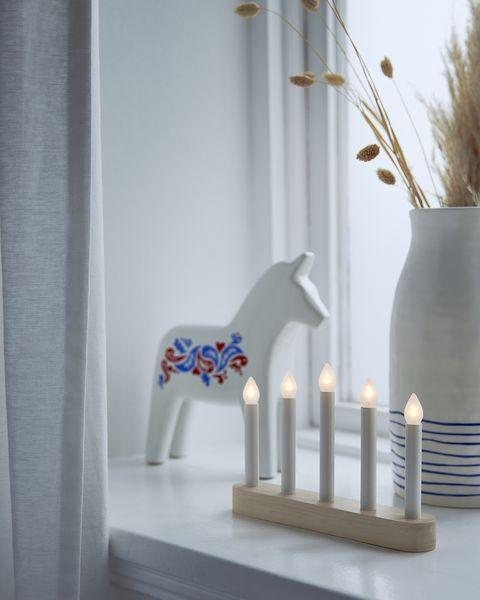 Araña LED STRÅLA de IKEA