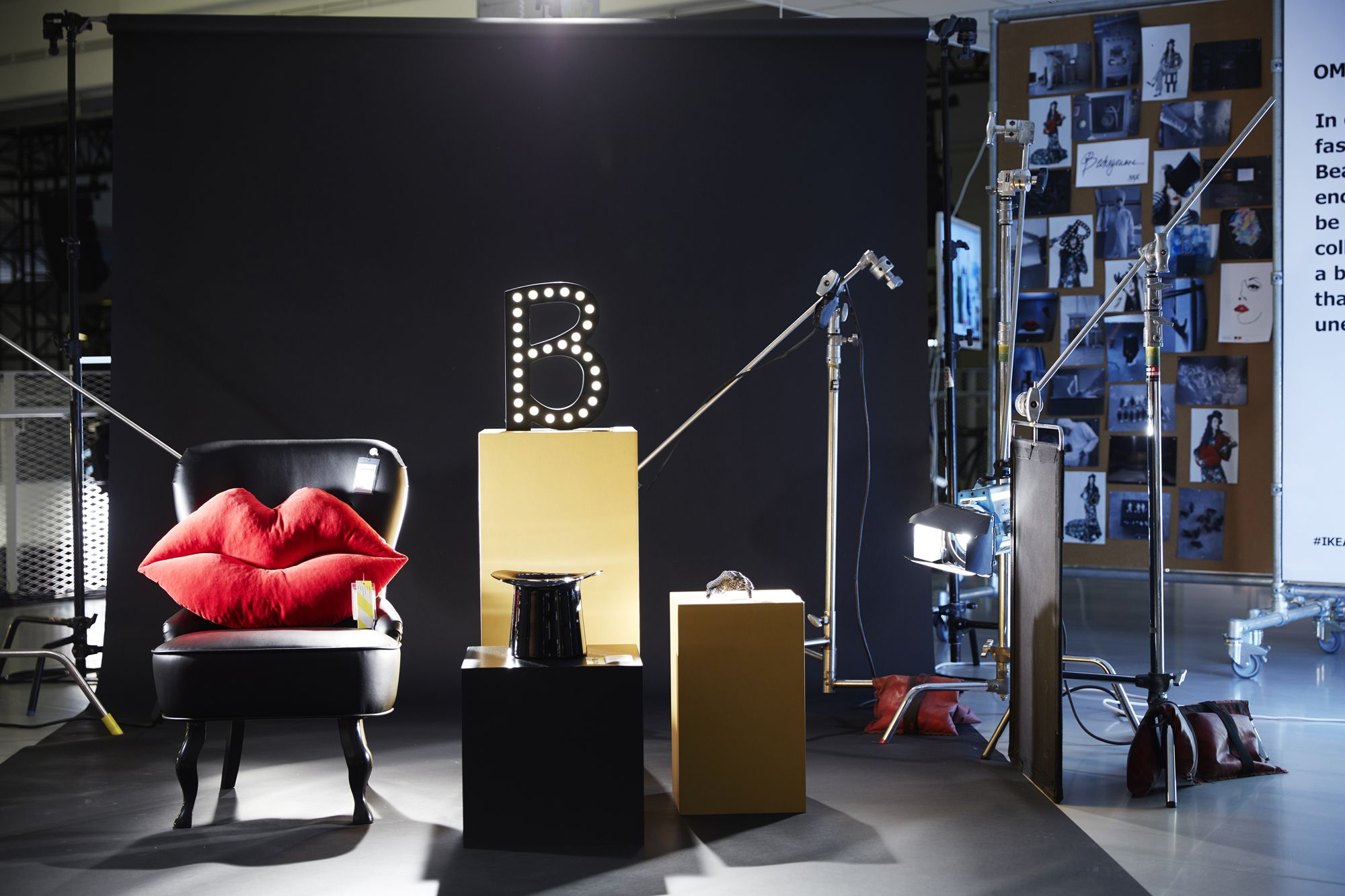 this ikea furniture line from bea akerlund is eccentric lady gaga and beyonce stylist