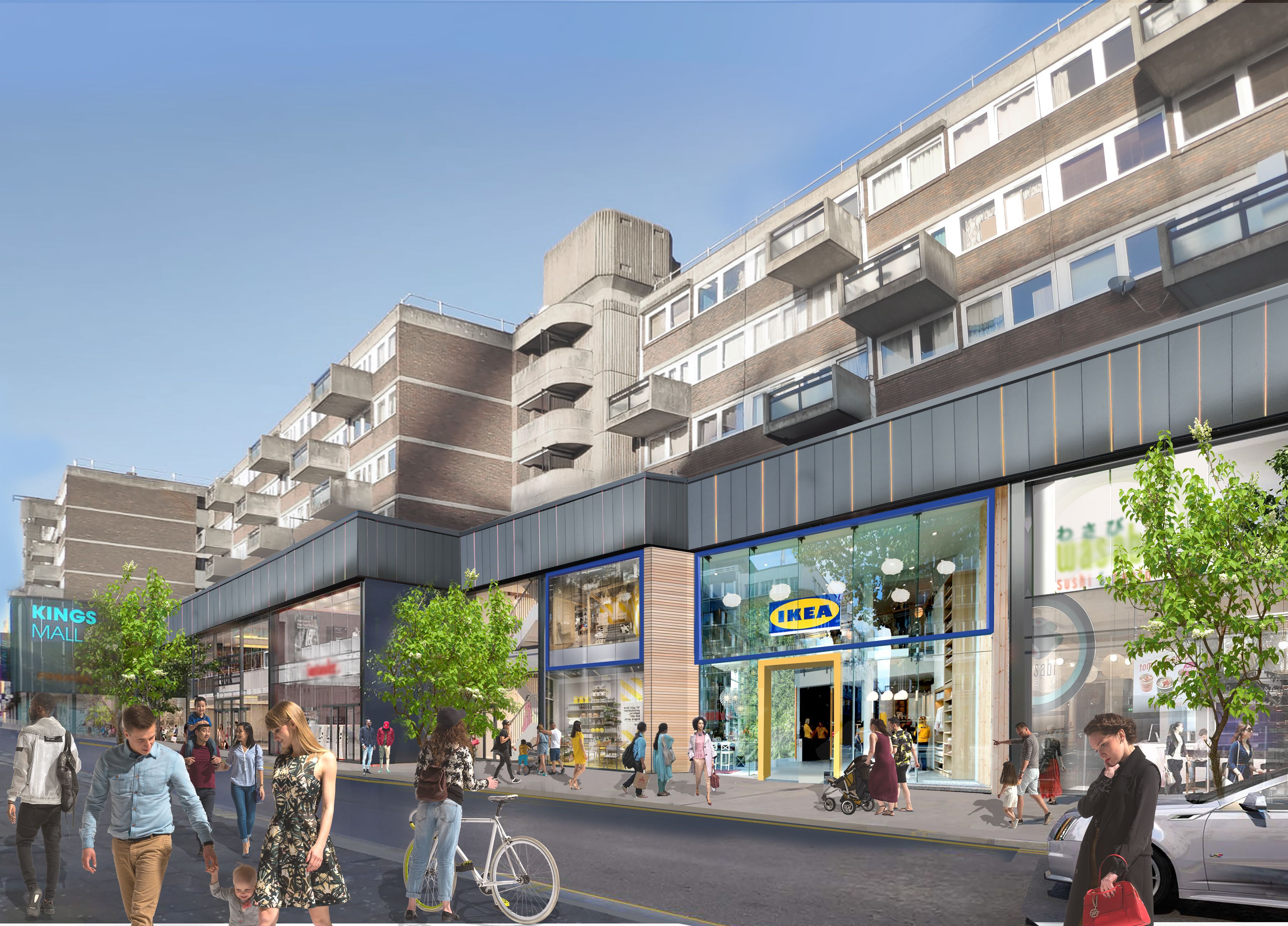 Ikea is opening a small city centre store in Hammersmith, London