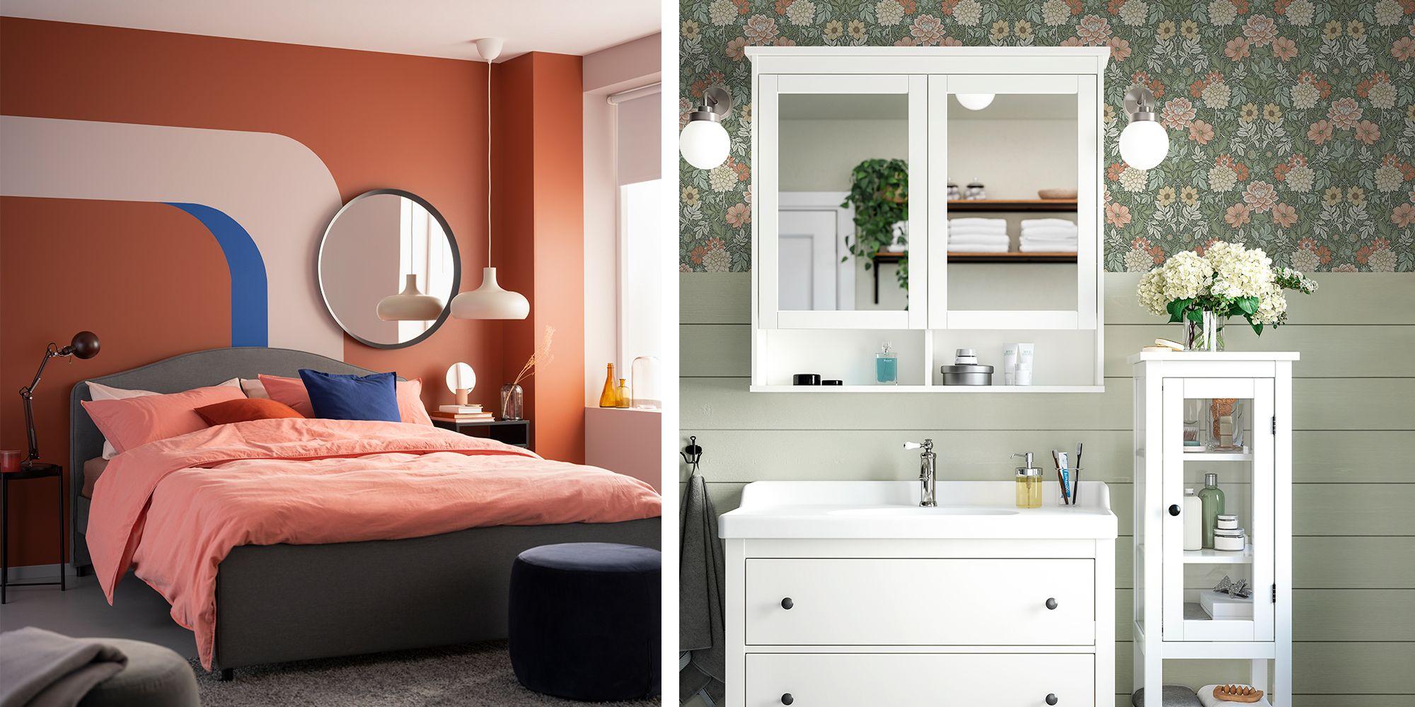 10 ideas geniales para pintar y decorar tus paredes que hemos visto en el catálogo de Ikea