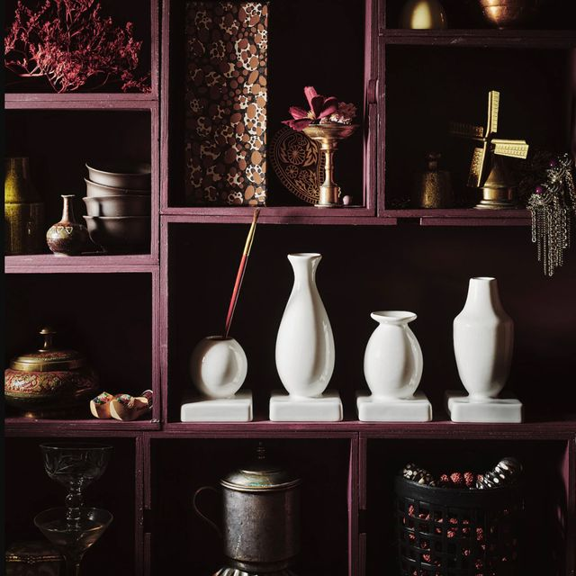 juego de 4 floreros de cerámica de ikea