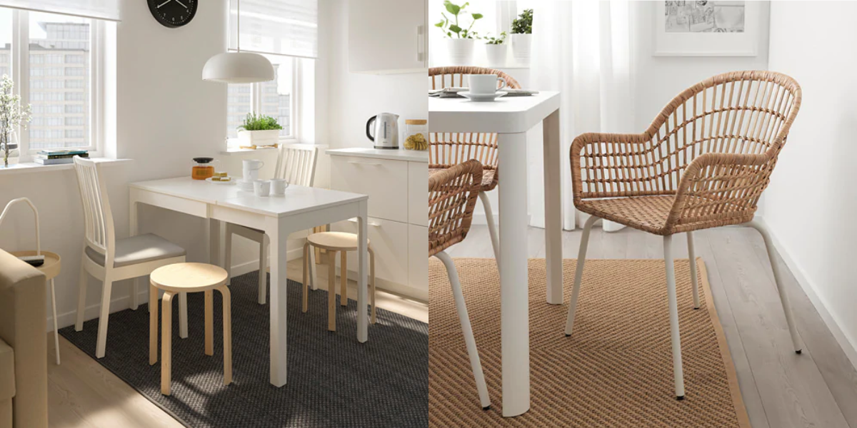 These IKEA Dining Sets Can Fit in Even the Tiniest Kitchens