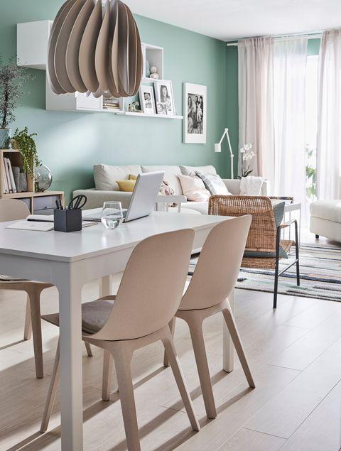 Un mismo piso decorado con IKEA en 5 países distintos