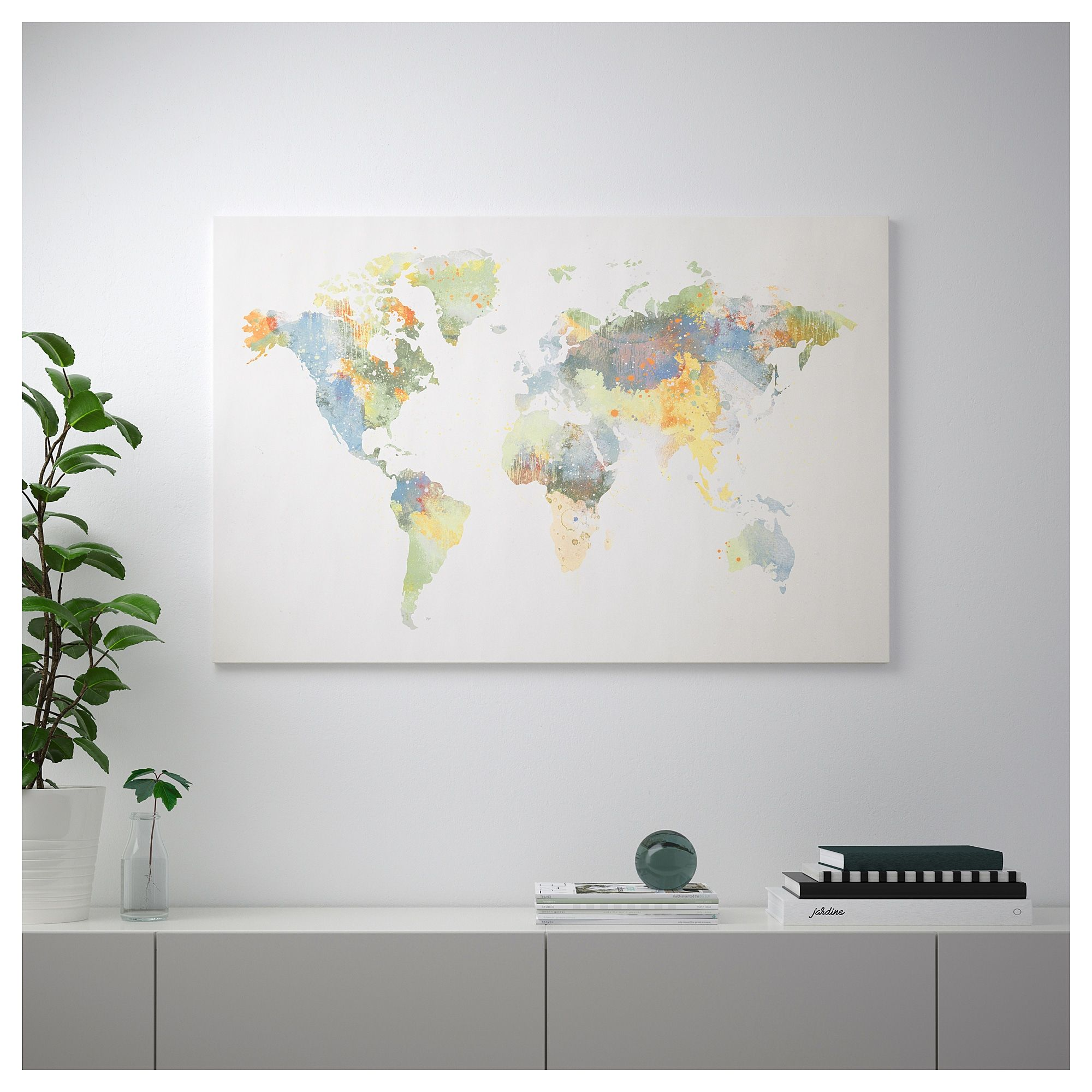 Ikea S Our World Bjorksta World Map Is Missing New Zealand