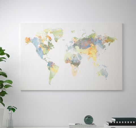 IKEA\'s \'Our World\' BJÖRKSTA World Map Is Missing New Zealand