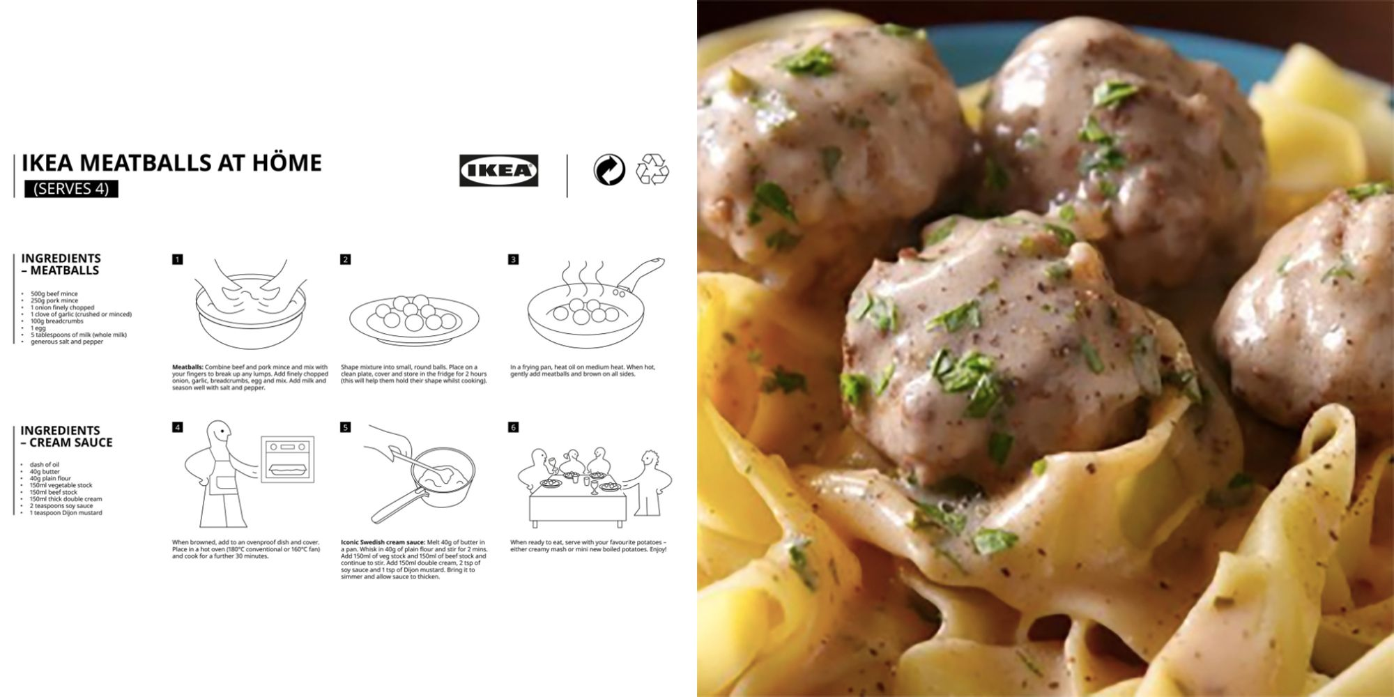How To Make Ikea Meatballs Swedish Meatball Recipe