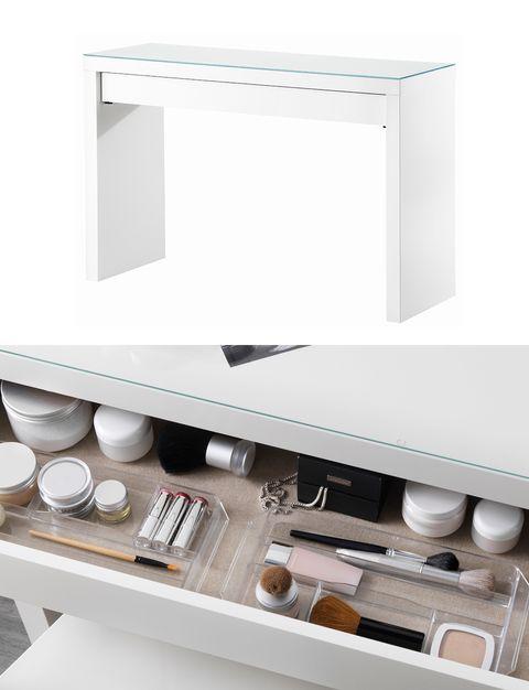 Los 7 mejores muebles y organizadores para el maquillaje de ikea - Organizadores cajones ikea ...