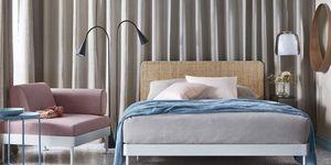 Wow: dit bed is in ieder geval super stijlvol en praktisch.