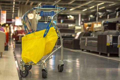 Ikea plastic bag