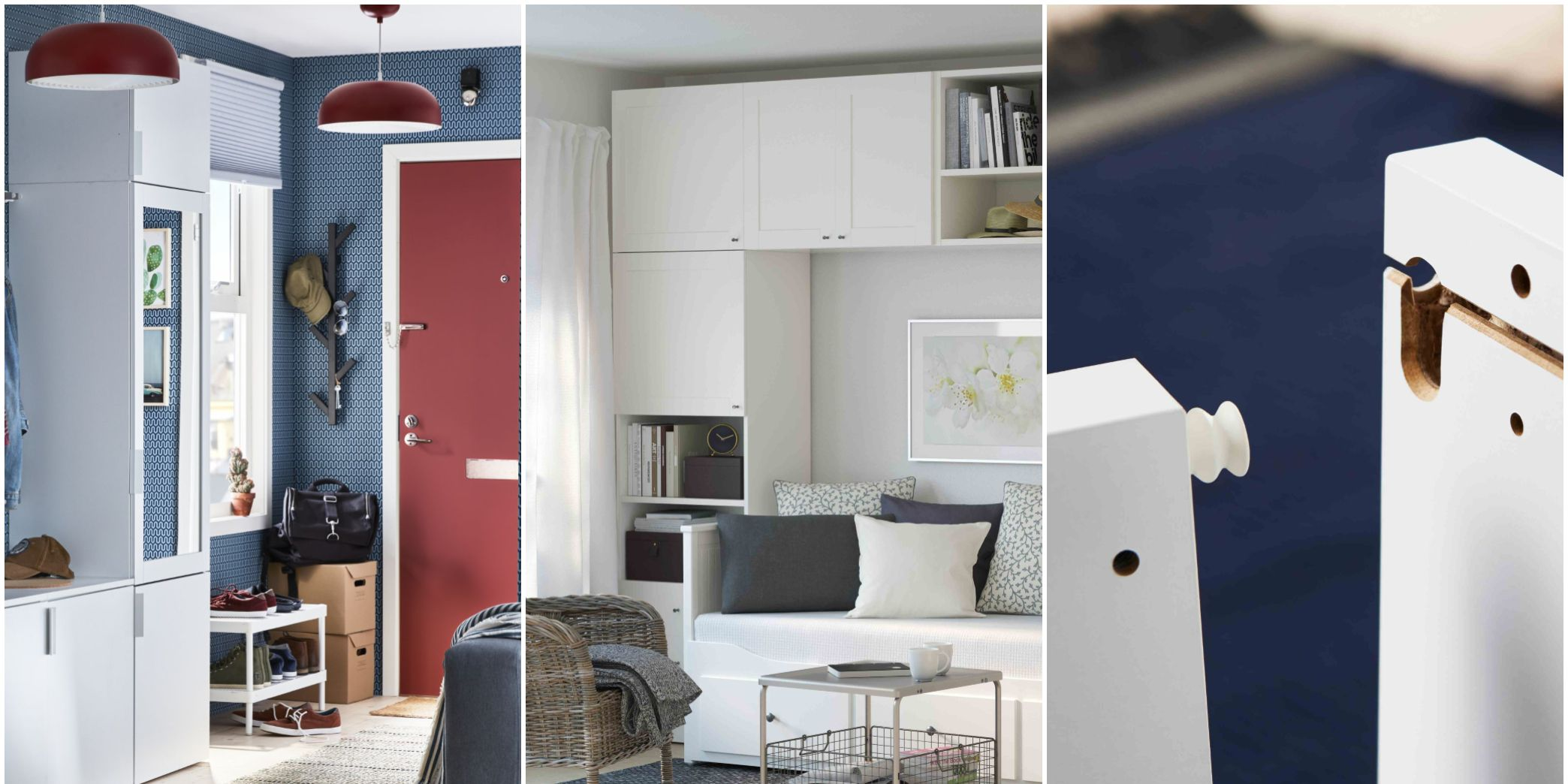 Ikea PLATSA range - storage system - wedge dowel