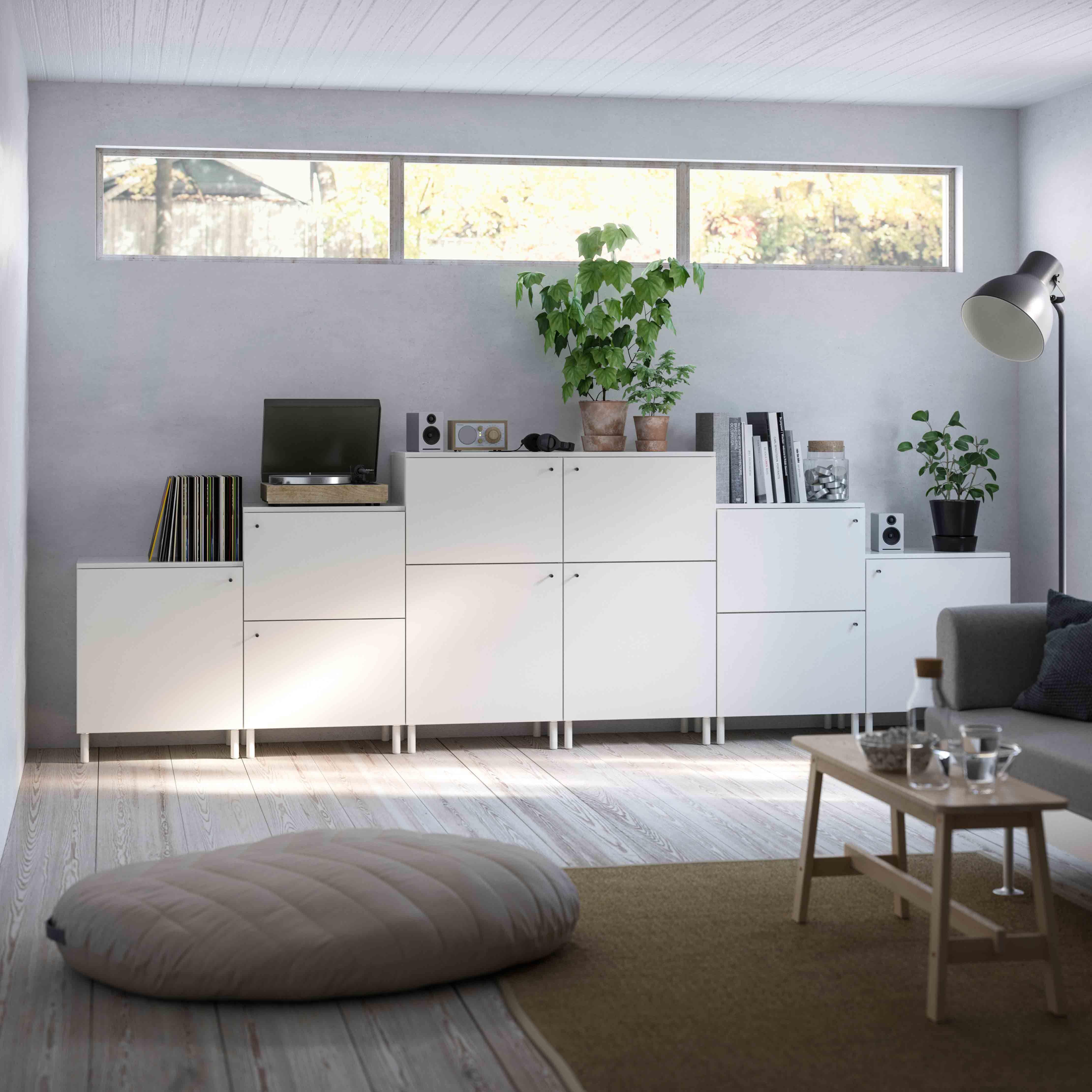Ikea PLATSA Range   Storage System Using Wedge Dowel Technology