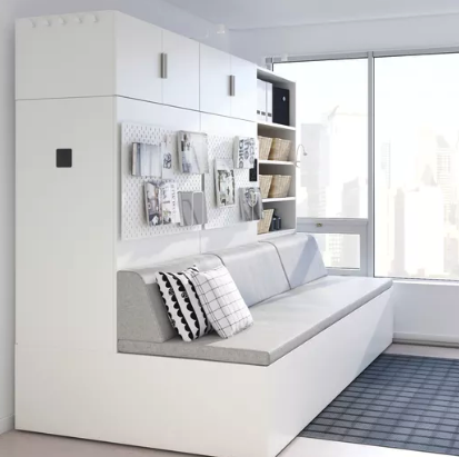 This Ikea Bed is Made is For Teeny Apartments
