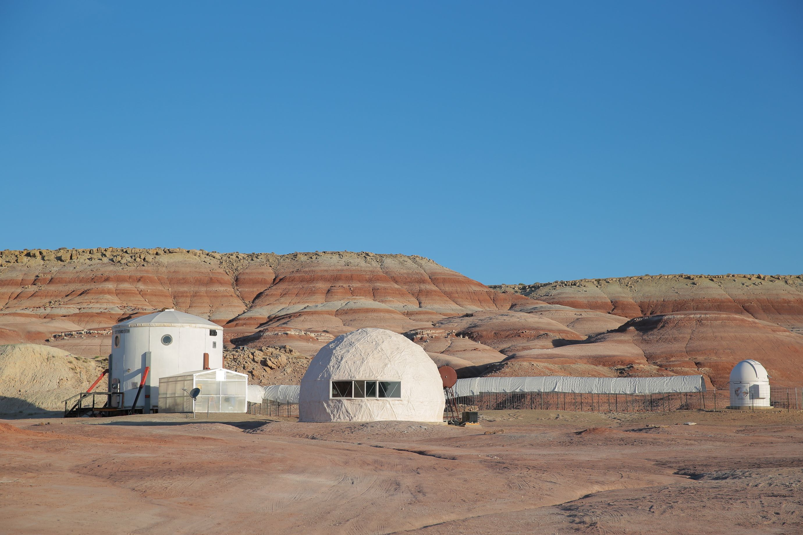 NASA Mars Desert Research Station in Utah - Ikea RUMTID collection