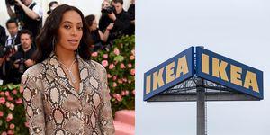 Solange Knowles, IKEA, samenwerking Solange Knowles enIKEA