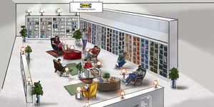 Ikea UK Reading Rooms in partnership with the Man Booker Prize