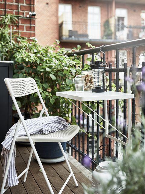 mesa y dos sillas plegables torparö de ikea