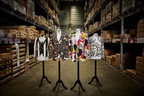 IKEA X William Hunt Suits - three-piece suits