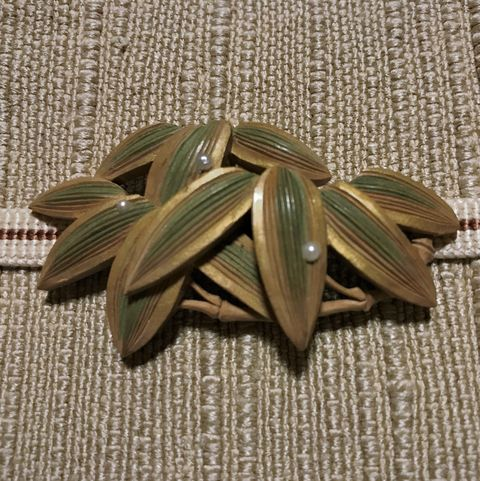 帯留,池田由紀子,竹,美しいキモノ,アンティーク着物,着物,帯