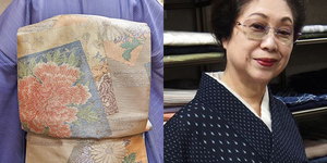 池田由紀子「盛夏の社交着物」