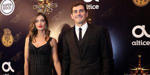 Iker Casillas visita aSara Carbonero en el hospital