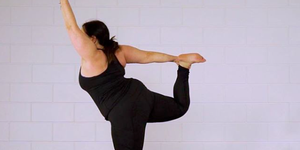 #iksportwel plus-size yogadocent Anat start tegenbeweging