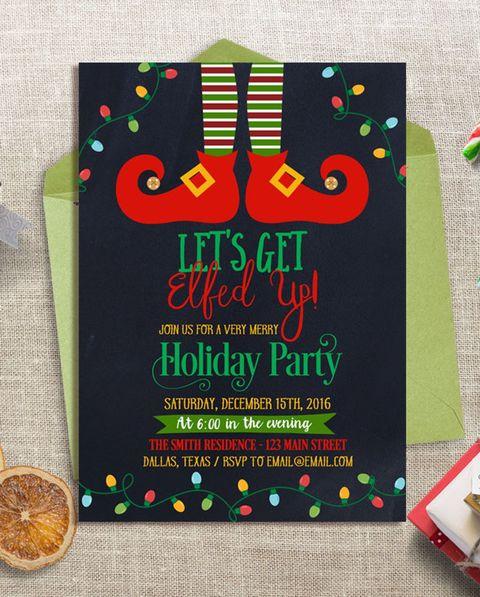 Present, Christmas eve, Event, Christmas, Holiday, Invitation,