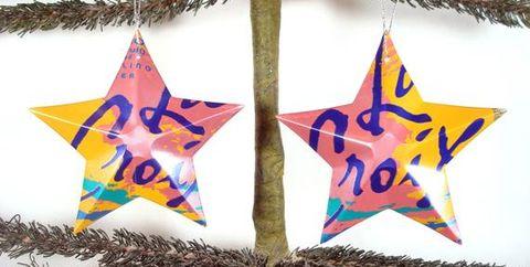 Christmas ornament, Holiday ornament, Star, Tree, Ornament, Christmas decoration, Interior design,