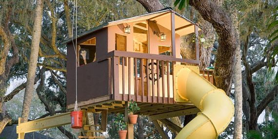 9 Treehouses Your Kids Will Beg You To Build