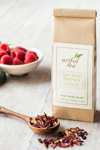 Rose Petal Raspberry Herbal Tea