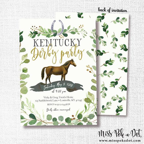 graphic relating to Printable List of Kentucky Derby Horses named 6 Great Kentucky Derby Get together Options - How toward Toss a Entertaining Derby