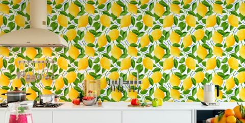 Courtesy Of Etsy If You Think Wallpaper Kitchens