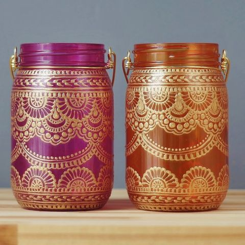 Mason jar, Magenta, Lid, Food storage containers, Metal,