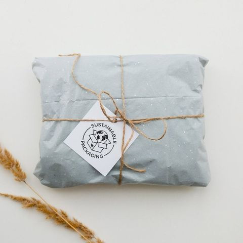 sustainable packaging stamp
