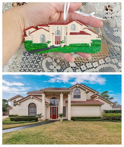 Forever Figurines Replica House and Wedding Cake Ornaments