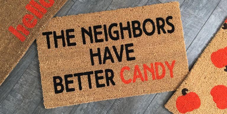 11 Best Halloween Doormats Clever Doormats For Halloween