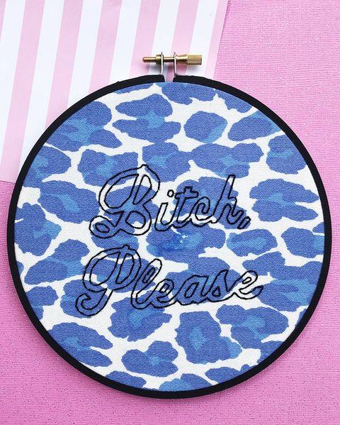 Blue, Aqua, Turquoise, Font, Fashion accessory, Pattern, Coin purse,