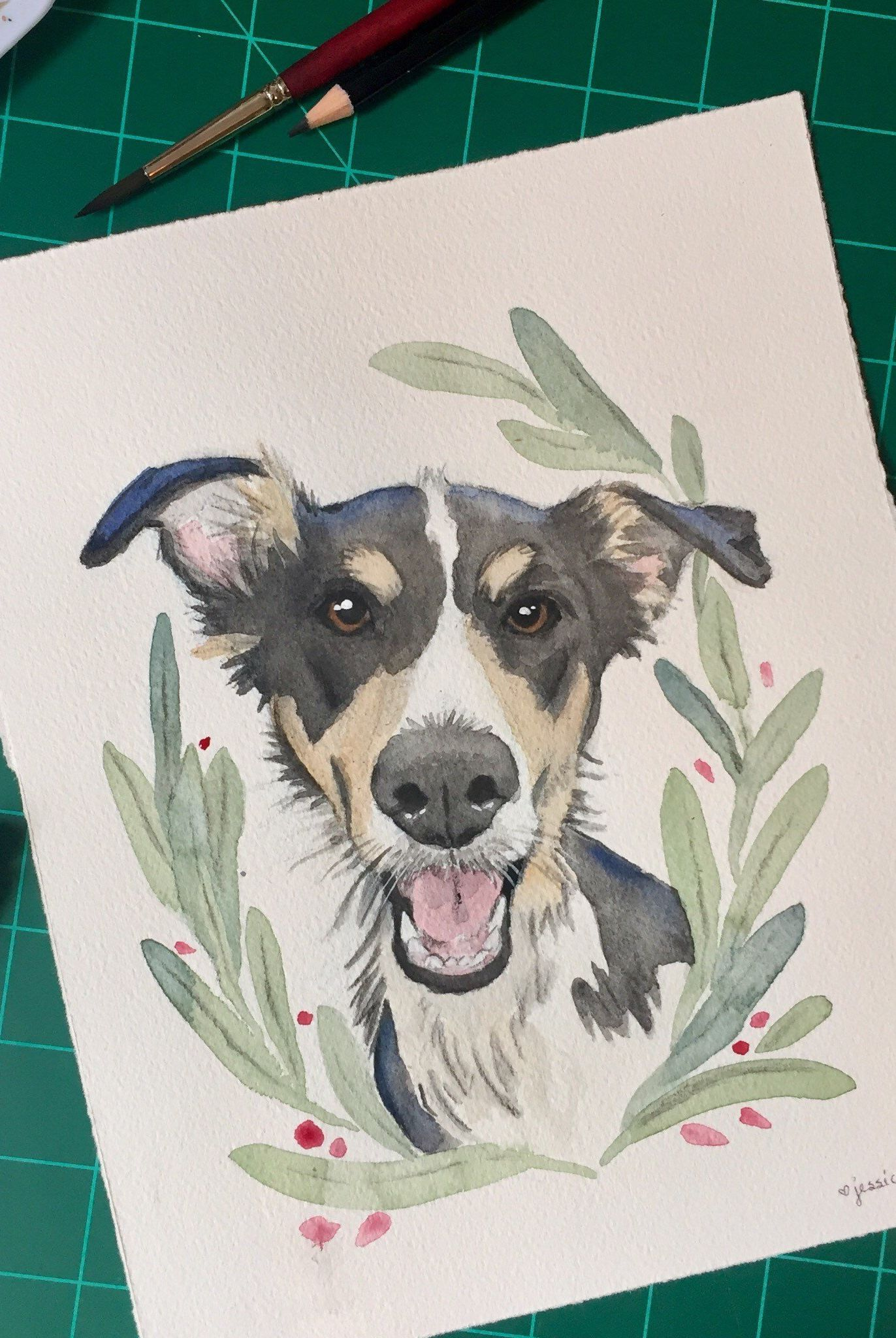 best gifts for mom 2018 - custom pet portrait