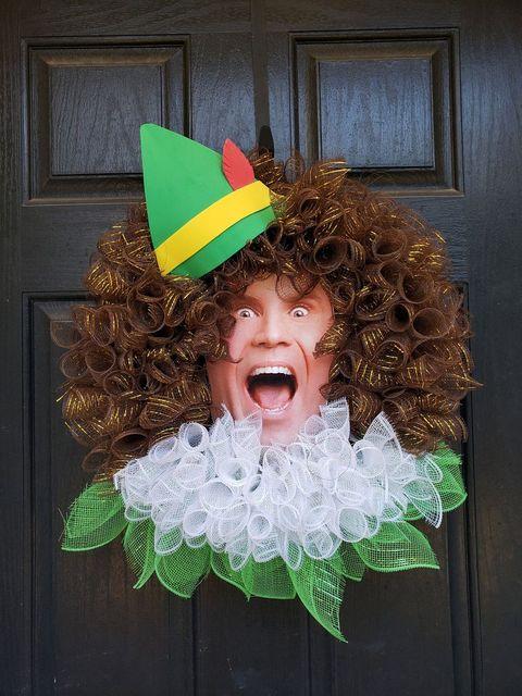 Buddy The Elf Christmas Wreath
