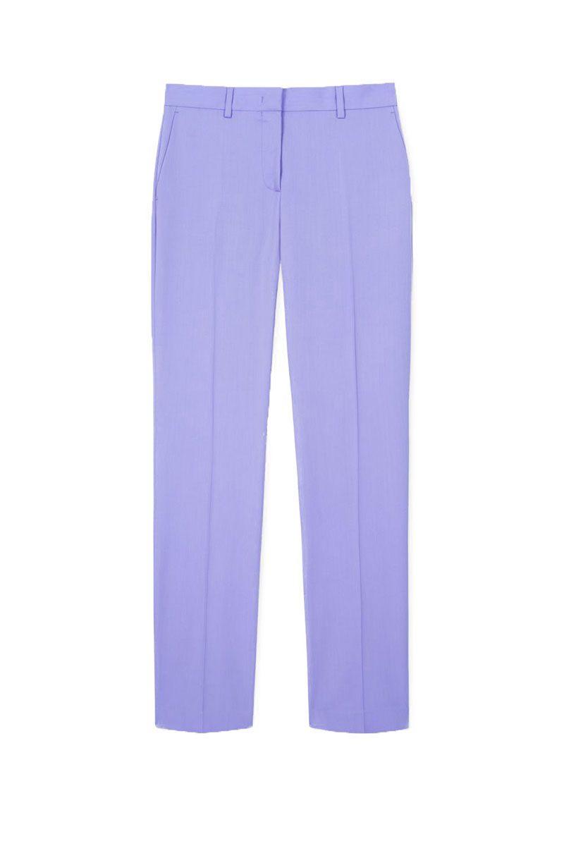 best trouser suit - lilac suit