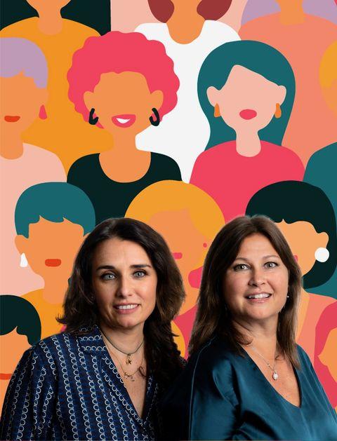 laura basili e ilaria cecchini di women at business