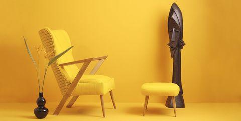 ádùnní chair and stool by ilé ila