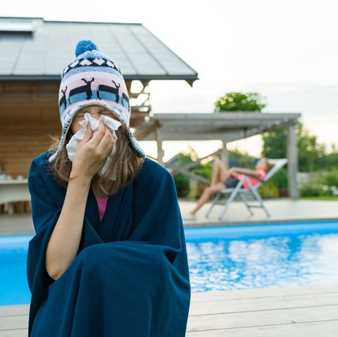 why do you get sick on holiday?