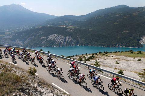 CYCLING TOUR DE FRANCE STAGE 18