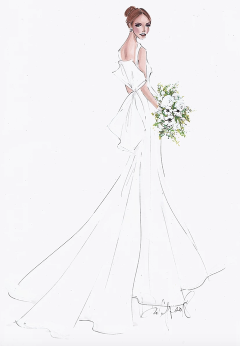 Gown, Dress, Clothing, Wedding dress, Bridal clothing, Bridal party dress, Bride, Fashion design, Bridal accessory, Fashion,