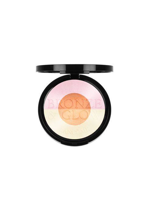 Cosmetics, Eye, Orange, Face powder, Beauty, Eye shadow, Organ, Human body, Material property, Peach,