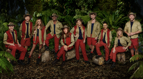I'm a Celebrity...Get Me Out of Here! 2019: Roman Kemp, Andrew Maxwell, Nadine Coyle, Ian Wright, Caitlyn Jenner, Jacqueline Jossa, Myles Stephenson, Adele Roberts, Kate Garraway, James Haskell