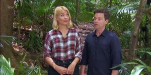 I'm a Celebrity 12/12/18 Holly Willoughby and Dec Donnelly