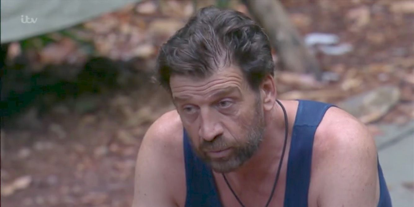 Nick Knowles of a celebrity reveals that he suffered from a shoulder injury in the jungle